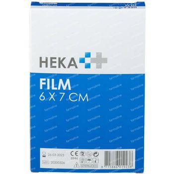 Hekafilm Feuille de Plaie 6x7cm 5 pièces