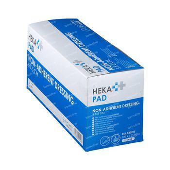 Hekapad Compresse de Plaie Stérile 5x5cm 100 pièces