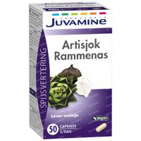 Juvamine Artisjok - Rammenas 50  capsules