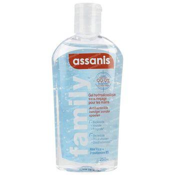 Assanis Antibacteriële Handgel Zonder Spoelen 250 ml