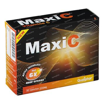 MaxiC Vitamine C 500mg 30 tabletten