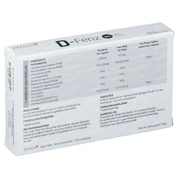Dyna+ D-Fenz 30 capsules