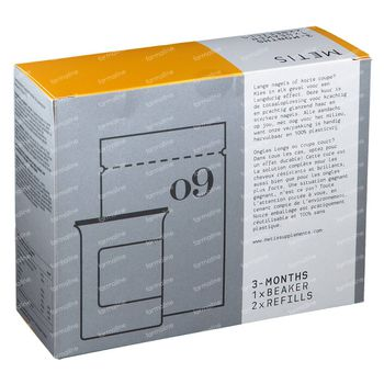 Metis Hair & Nails 09 Curepack 204 capsules