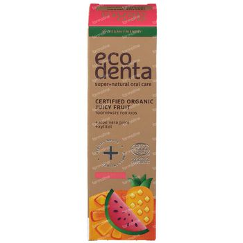 Ecodenta Juicy Fruit Kids Tandpasta Bio 75 ml