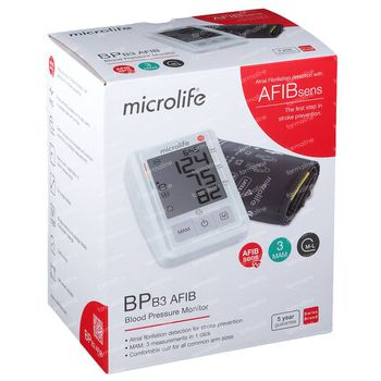 Microlife BP B3 AFIB Bloeddrukmeter 1 stuk