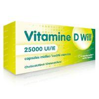 Vitamine D Will 25000 IE 4  capsules