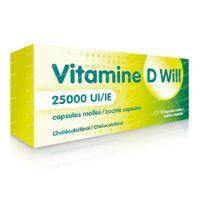Vitamine D Will 25000 IE 12  capsules