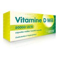 Vitamine D Will 50000 IE 4  capsules