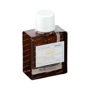 Korres KB Eau de Toilette Vanilla Freesia 50 ml