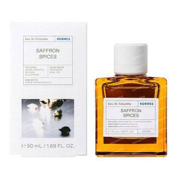 Korres KB Eau de Toilette Saffron Spices 50 ml