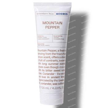 Korres KB Aftershave Balsem Mountain Pepper 125 ml