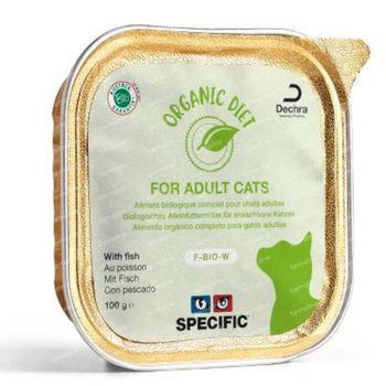 Specific Organic Diet F-Bio-W Fish Kat 8x100 g