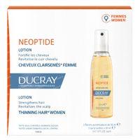 Ducray Neoptide Lotion tegen Haaruitval Vrouwen Nieuwe Formule 3x30 ml