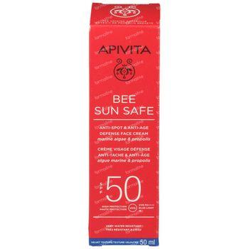 Apivita Bee Sun Safe Anti-Spot & Anti-Age Defense Face Cream SPF50 50 ml
