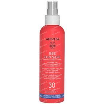 Apivita Bee Sun Safe Hydra Melting Ultra Light Face & Body Spray Marine Algae & Propolis SPF30 200 ml