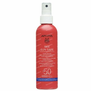 Apivita Bee Sun Safe Hydra Melting Ultra Light Face & Body Spray Marine Algae & Propolis SPF50 200 ml