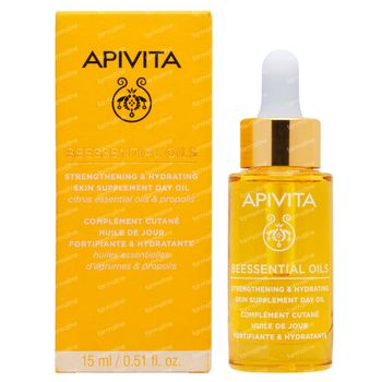 Apivita Beessential Oils Strengthening & Hydrating Skin Supplement Day Oil 15 ml
