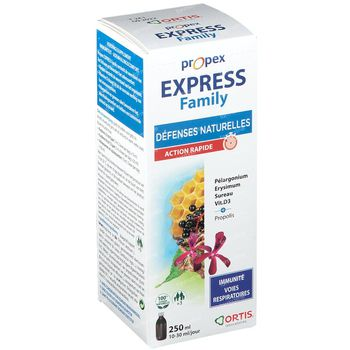 Ortis Propex Express Family 250 ml siroop