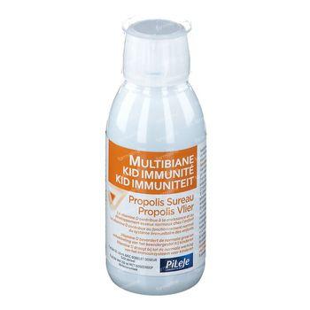 PiLeJe MultiBiane Kid Immuniteit Propolis Vlierbessen 150 ml