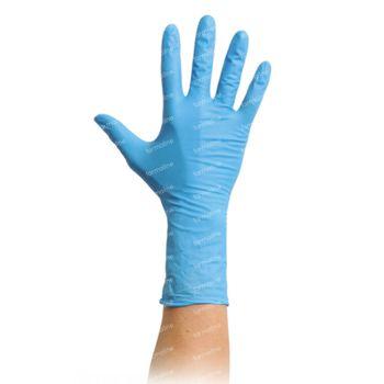 MaiMed Nitril Handschoenen Poedervrij Niet-Steriel Blauw Medium 100 stuks