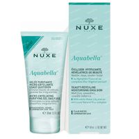 Nuxe Aquabella Beauty-Revealing Hydraterende Emulsie + Micro-Exfoliating Purifying Gel GRATIS 1  set