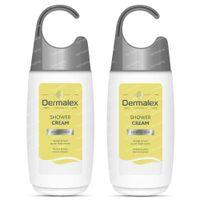 Dermalex Crème Douche Douce Peaux Normales DUO Prix Réduit 2x250 ml