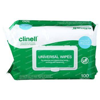 Clinell Lingettes Universelles 100 pièces