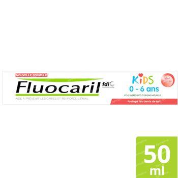 Fluocaril Kids Dentifrice Fraise Nouvelle Formule 50 ml