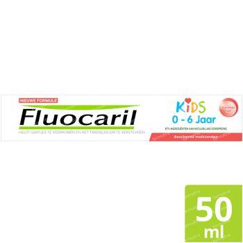Fluocaril Kids Tandpasta Aardbei Nieuwe Formule 50 ml
