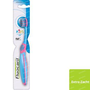 Fluocaril Kids Tandenborstel Extra Zacht 1 stuk