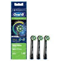 Oral-B Refill EB50-3 CrossAction Black 3 stuks