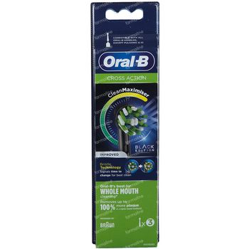 Oral-B Refill EB50-3 CrossAction Black 3 stuks