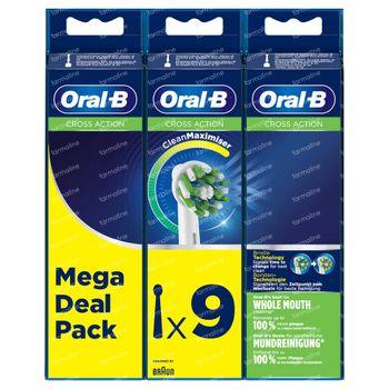 Oral-B Refill EB50-9 CrossAction 9 stuks
