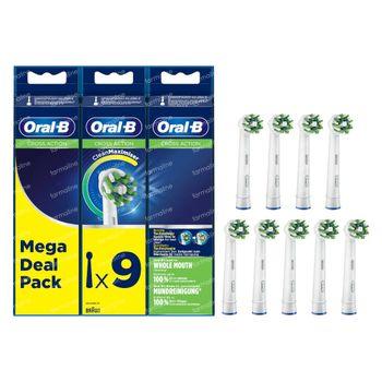 Oral-B Refill EB50-9 CrossAction 9 pièces