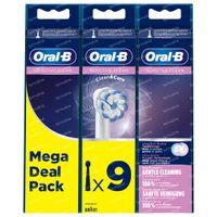Oral-B Refill EB60-9 Sensitive Clean 9 pièces