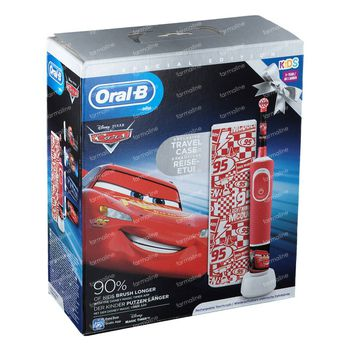 Oral-B D100 Cars + Travelcase GRATIS 1 set