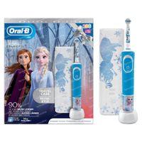 Oral-B D100 Frozen 2 + FREE Travel Case 1  shaker