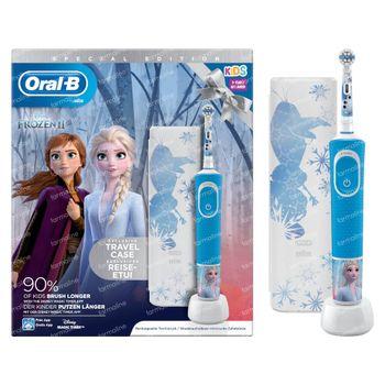 Oral-B D100 Frozen 2 + Valise de Voyage GRATUIT 1 set