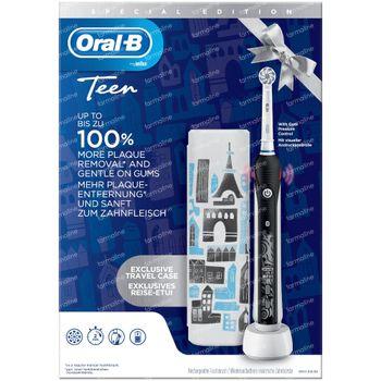 Oral-B D601 Teens Black + Valise de Voyage GRATUIT 1 set