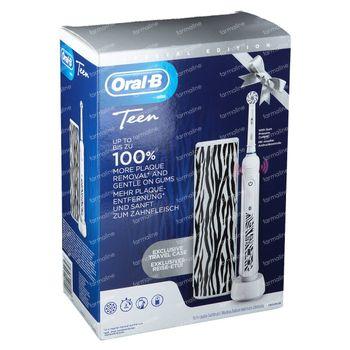 Oral-B D601 Teens White + Travelcase GRATIS 1 set