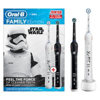 Oral-B Family Pack Pro 2 Black + Junior Star Wars 1  set
