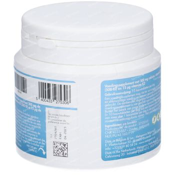 BariNutrics Calciumcitraat + Vitamine D & Vitamine K2 Perzik - Mango 90 tabletten