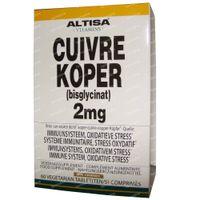 Altisa Bisglycinate de Cuivre 2mg 60  comprimés