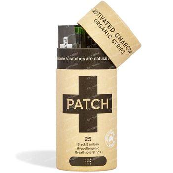 PATCH Black Bamboo Pleisters Beten & Splinters Geactiveerde Houtskool 25 stuks
