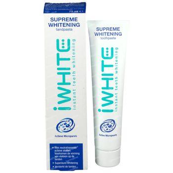 iWhite Supreme Whitening Tandpasta 75 ml