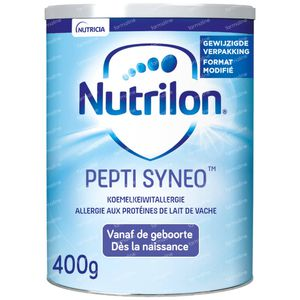 Nutrilon Pepti Syneo Lait Poudre Nouvelle Modèle 400 g