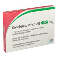 Diclofenac Patch AB 140mg 5 stuks