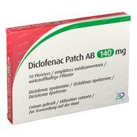Diclofenac Patch AB 140mg 10 stuks