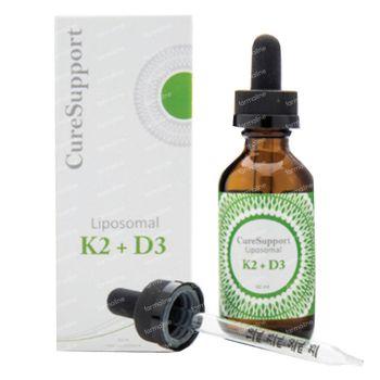 CureSupport Liposomal K2 + D3 60 ml