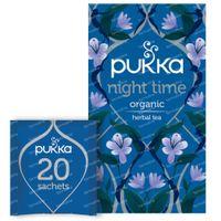 Pukka Herbs Thé Night Time 20 pièces